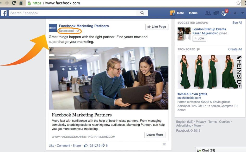 hình ảnh quảng cáo facebook