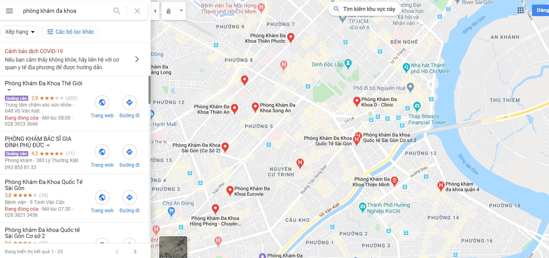 Cách Tìm Kiếm Khách Hàng Trên Google