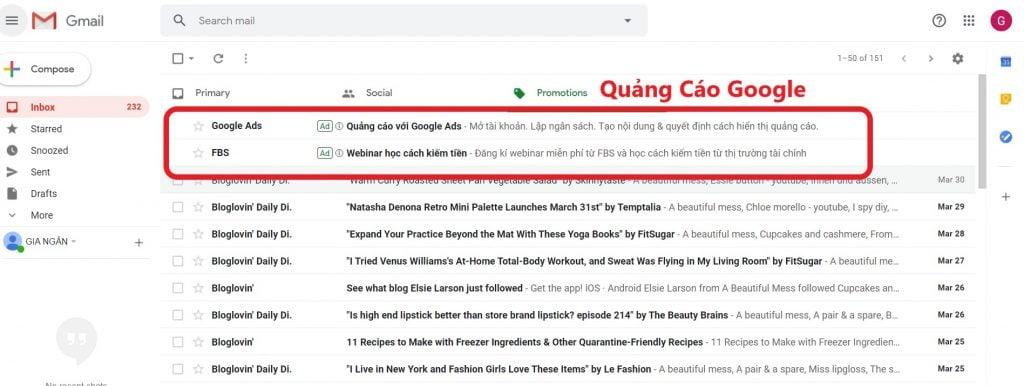 cách tìm kiếm khách hàng trên gmail hộp thư điện tử